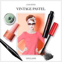 ¿Te encanta el look de los años '60? ¡Prueba esta fórmula! #Maquillaje #MakeUp #Tip #OriflameMX