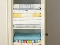 Organizing Your Linen Closet | Easy Ideas for Organizing and Cleaning Your Home | HGTV