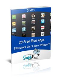 37+ Teacher Favorite iPad Apps - plus free eBook with 20 more free Apps!