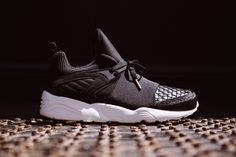 Dutch luxury footwear brand Filling Pieces and German sportswear giant PUMA collaborate on a brand new Blaze of Glory silhouette.