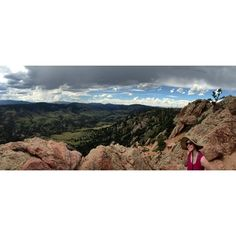 Horsetooth Rock in Colorado- A 2.5 mile hike to the top of Horsetooth Rock offers one of the best views in Fort Collins. Access the trail from Horsetooth Mountain Open Space on the west side of the reservoir.