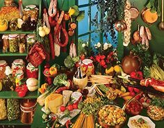 Springbok Italian Kitchen Jigsaw Puzzle 500Piece *** For more information, visit image link.Note:It is affiliate link to Amazon.