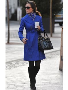 Pippa Middleton -- I've pinned this outfit before, but I am completely in love with this jacket.