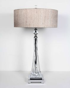 Pair of Sculpted Murano Twist Glass Lamps by Seguso   From a unique collection of antique and modern table lamps at https://www.1stdibs.com/furniture/lighting/table-lamps/