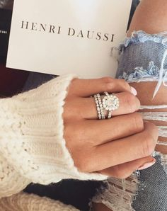 Such a stunningly classic ring