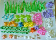 Under the sea fondant decorations Dory Cake, Nemo Cake, Fondant Toppers, Fondant Cakes, Cupcake Cakes, Cake Fondant, 3d Cakes, Ocean Cakes, Beach Cakes