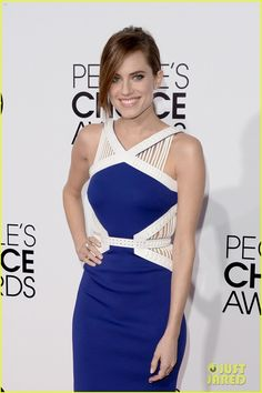 Allison Williams - People's Choice Awards 2014 Red Carpet | allison williams peoples choice awards 2014 red carpet 06 - Photo