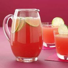Watermelon Spritzer Recipe from Taste of Home -- shared by Geraldine Saucier of Albequerque, New Mexico