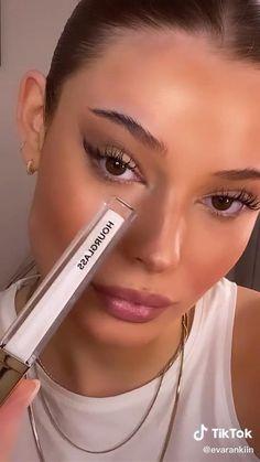 Eye Makeup Art, Eyebrow Makeup, Skin Makeup, Eyeshadow Makeup, Makeup Videos, Makeup Tips, Pretty Makeup, Makeup Looks, Maquillage On Fleek