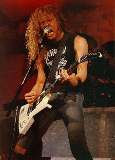 James Hetfield - Guitar God #2 (behind Jimmy Page)