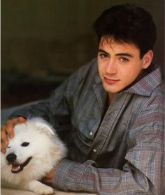A young Robert Downey Jr.  Can totally see it's him too.