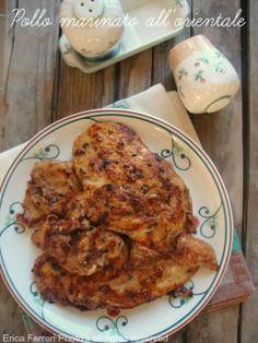 Ogni riccio un pasticcio - Blog di cucina: Petto di pollo con marinatura all'orientale