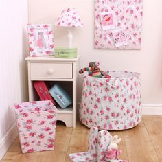 Rosie girls message board in room and lots of other cute bits from £22 by www.babyface.uk.com