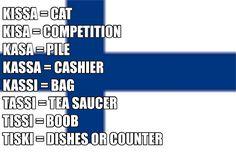Resultado de imagen de words in finnish