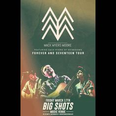 Valparaiso IN! It's your turn to see @ZMyersOfficial @ZackMack513 & @JRMoore901 at Big Shots. Who's going to the show?! Show info: http://www.AllenMackMyersMoore.com