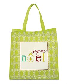 Take a look at this Green Joyeux Noel Reusable Tote Bag - Set of Four today! The Birth Of Christ, Christian Christmas, Christmas Bags, Reusable Bags, Invitations, Green, Gifts, Totes, The Nativity Story