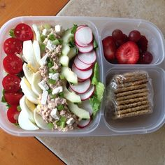 Hubby's lunch! | packed in @EasyLunchboxes containers