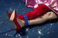 'Tie Me Up!' /// 'Post Party' Cubbish & Alvaro Peñalta http://www.cubbish.cat/alvaro-penalta/