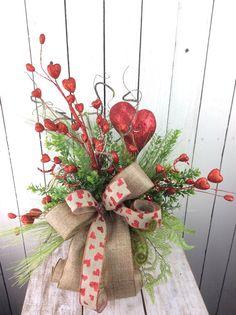 Valentine Centerpieces Valentines Gift valentines day by Keleas