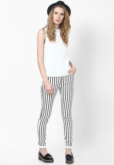 262f103824d Buy MANGO Off White Blouse Online - 3175333 - Jabong
