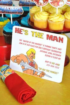He Man Hes The 31st Birthday Party Such A