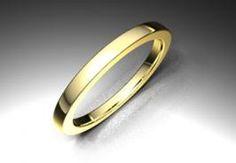 Alianza de oro amarillo de 18K modelo Cuadrada Ref.: 750AMA20CUADROOro amarillo de 18Kmodelo Cuadrada superficie brillo #bodas #alianzas #novia | cnavarro.com