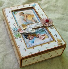 Little Darlings Graphic 45 altered box