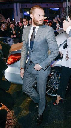 Jamie Dornan arriving at the fifty shades darker premiere in London england february 9th 2017