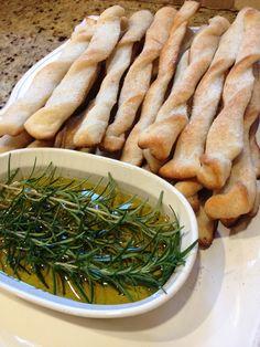 easy appetizer or bread side #bread #oliveoils #appetizers