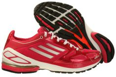 buy online 9248d 220a9 Womens Adidas Adizero 2 Running Shoes Bright Pink Zero Metallic Black Size  65   You can find more details by visiting the image link.