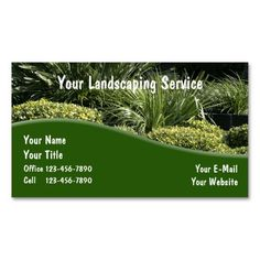 150 best landscaping business cards images on pinterest in 2018 landscaping business cards fixed wajeb Choice Image