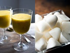 Coconut Pineapple Pumpkin Seed Smoothie: View this and hundreds of other vegetarian recipes in the @nytimes Eat Well Recipe Finder.
