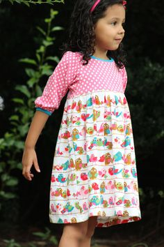 The Snapdragon Dress is a must for your pattern collection! It boasts FIVE…