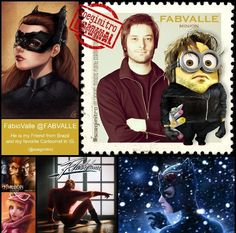 IG @soegimitro's Favorite Artist Celebrity Minion Stamps ~ Cartoonist IG@FabValle