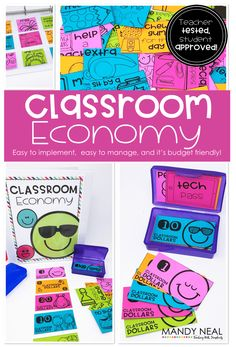 A Classroom Economy Made Simple! Easy to implement, easy to manage, and it's budget friendly! Classroom Money, Classroom Incentives, Classroom Economy, Classroom Behavior Management, First Grade Classroom, Future Classroom, School Classroom, Classroom Themes, Classroom Organization