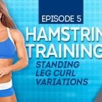 Hello again, FitnessRx ladies! Welcome to my fifth Real Strength TRANSFORM video, brought to you by Divine Nutrition. In today's video, I am focusing on one of my favorite body parts--the hamstrings. Using the standing leg curl machine, I will be...