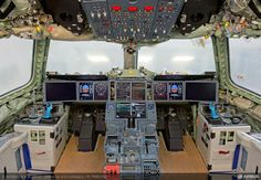 A350 XWB MSN1 flight-deck