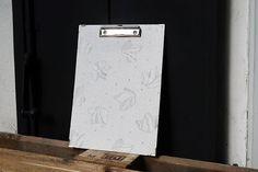 Tapeten-Klemmbrett A4 Paper, Stationery Set, Boards, Wallpapers, Repurpose