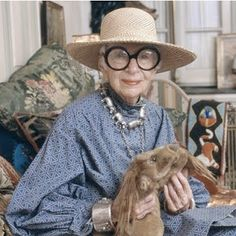 The Sweet Guide: {Fashion Icons} Iris Apfel:アイリス・アプフェル