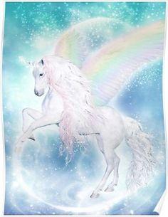 Dolphins DreamDesign – Regenbogen Einhorn Pegasus - Jason Floyd DIY and Art Unicorn And Fairies, Unicorn Fantasy, Unicorns And Mermaids, Unicorn Horse, Unicorn Art, Rainbow Unicorn, Magical Unicorn, Unicorn Makeup, Unicorn Crafts
