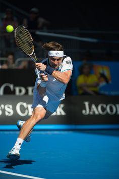 Hustler!   David Ferrer @ Australian Open 2012 - Lotto Sport Italia