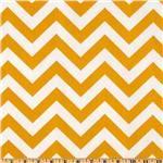 premier prints indoor/outdoor zigzag yellow