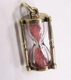 Charm Braclets, Charm Jewelry, Jewlery, Jewelry Box, Silver Jewelry, Sand Glass, Sand Timers, Mini Things, Love Charms