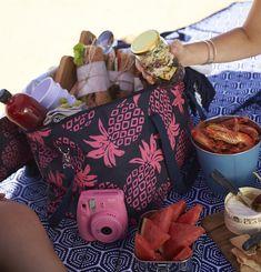 salad jars beach picnic