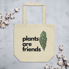 Tote bag for plant lovers! Terrarium Workshop, Build A Terrarium, Plants Are Friends, House Plants, Reusable Tote Bags, Lovers, Fun, Gifts, Presents
