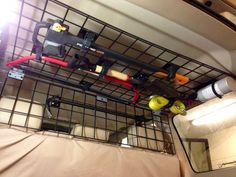Overhead Storage & Gear Mounting
