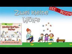 Zwei kleine Wölfe - Die besten Kindergartenlieder || Kinderlieder - YouTube