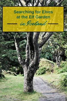 A visit to the Elf Garden in Iceland. We didn't see any elves but we had a beautiful visit.