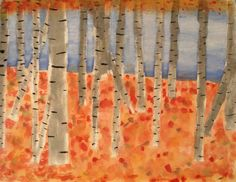 As the leaves are quickly changing colour where I live, I though I'd better post this fall landscape project. It's a 'autumnal' take on th...