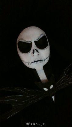 Jack Skellington The nightmare before christmas Halloween Makeup